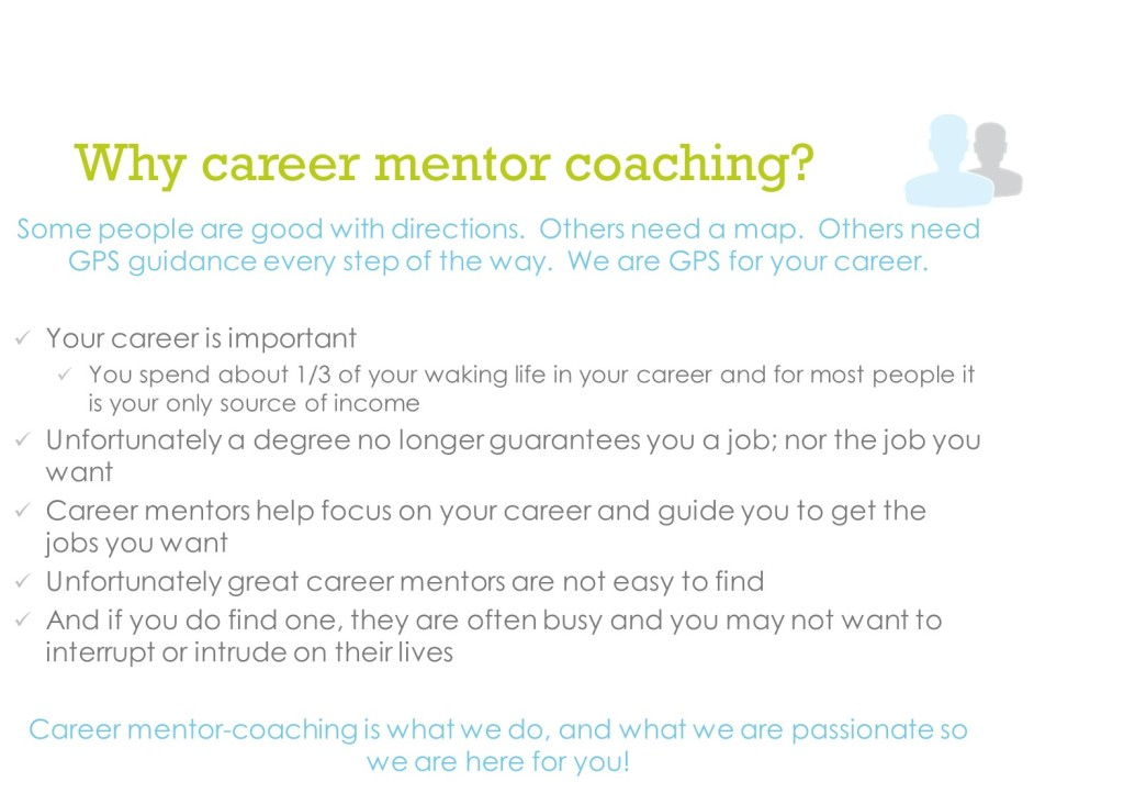 00 Why career mentor coaching