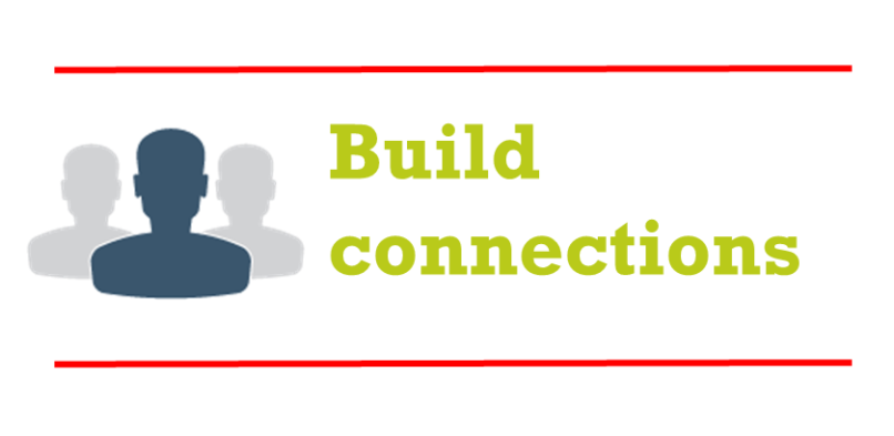 Build on your connections – staying in touch