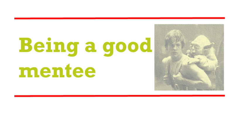Being a good mentee – some unwritten rules