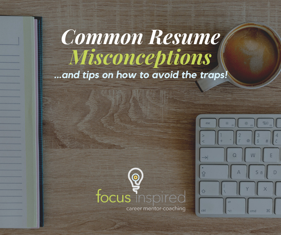 Title Card - Common Resume Misconceptions