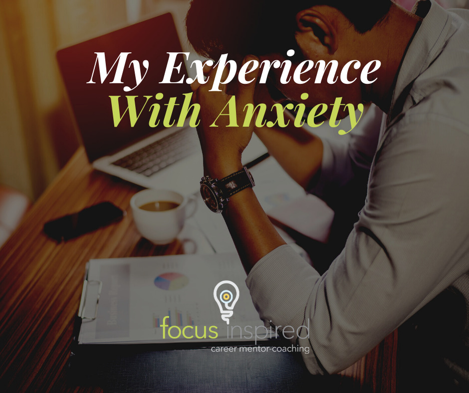 Title Card - My Experience With Anxiety