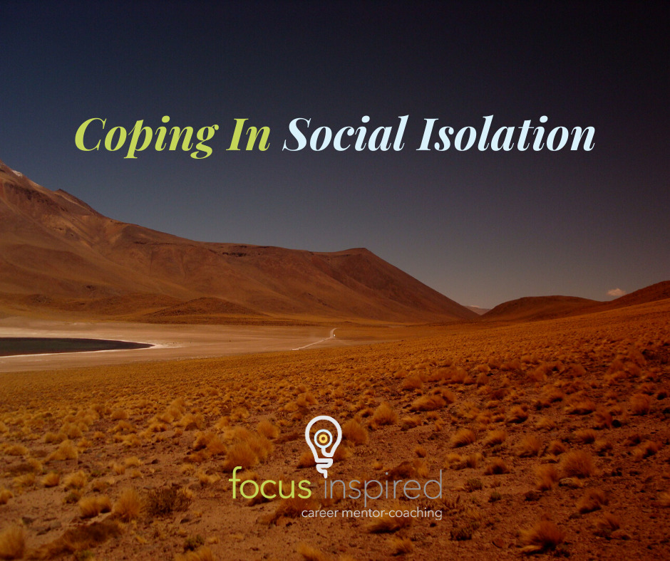 Title Card - Coping In Social Isolation