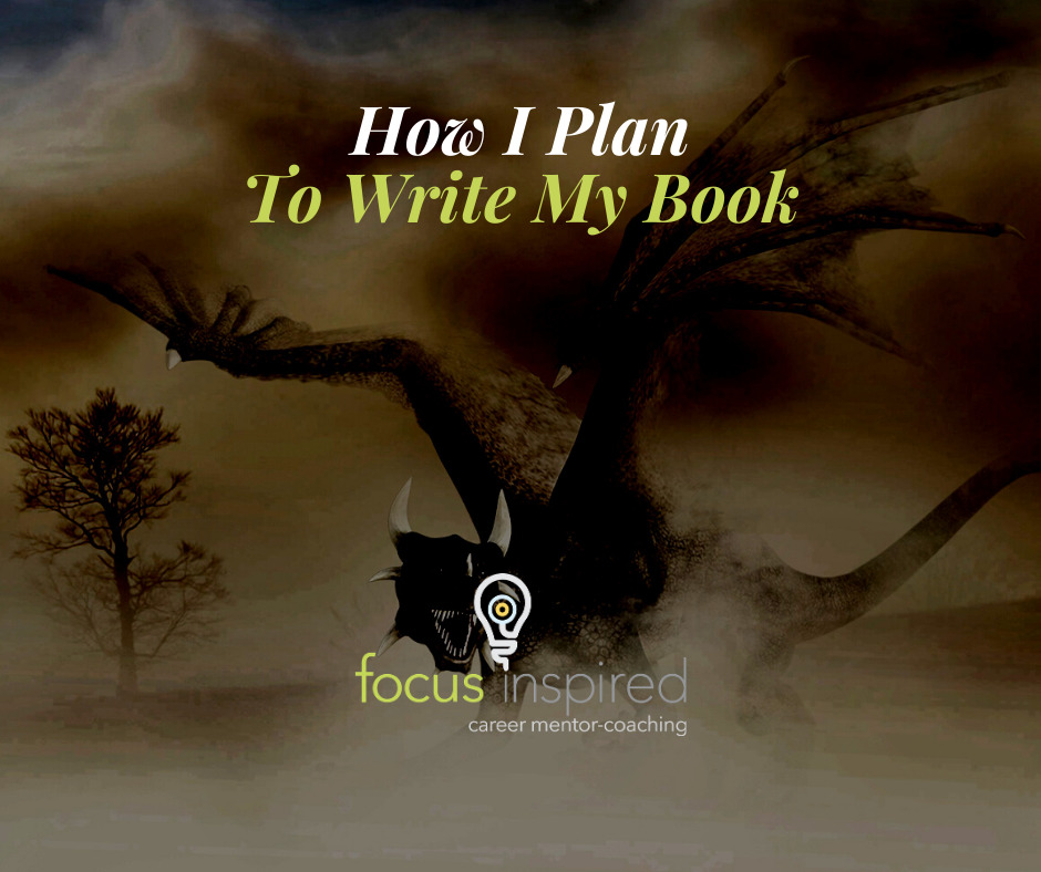 Title Card - How I Plan To Write My Book