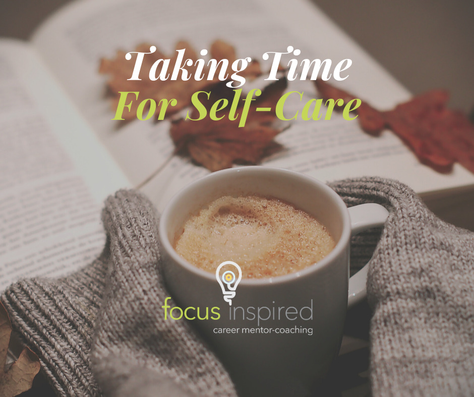 Title Card - Taking Time For Self-Care