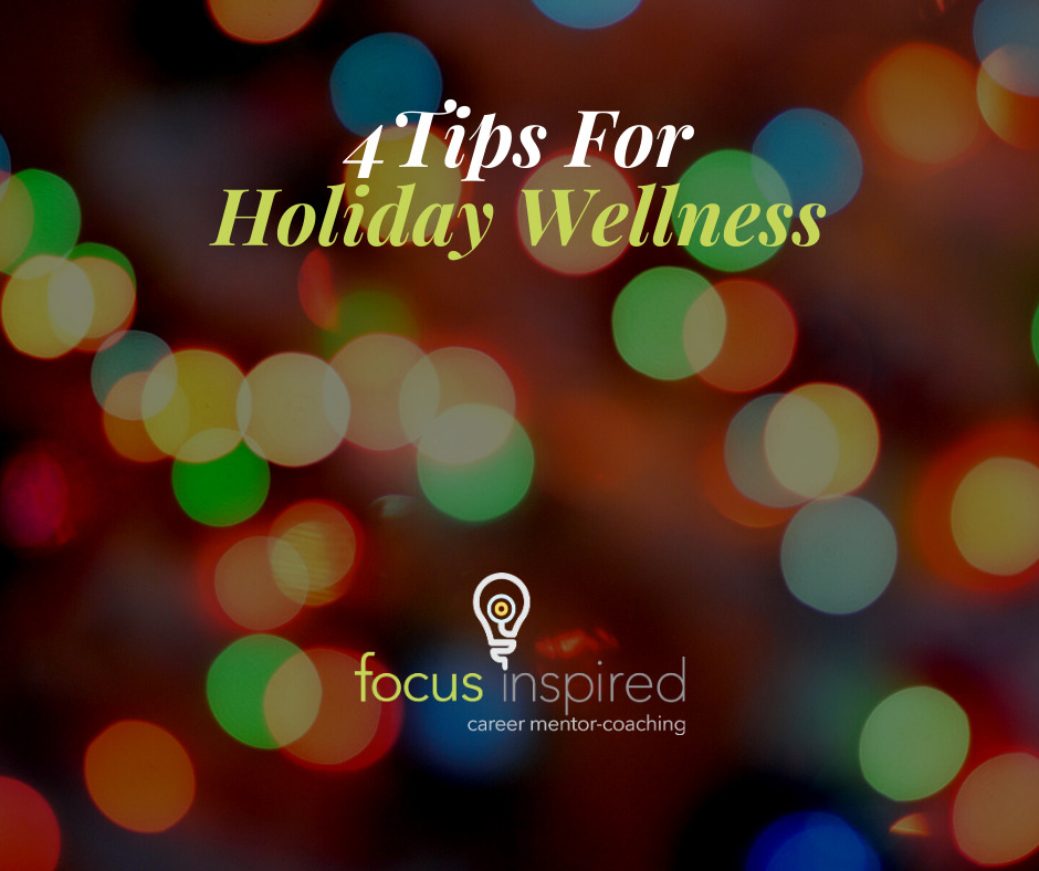 Title Card - 4 Tips For Holiday Wellness