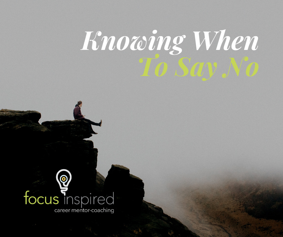 Title Card - Knowing When To Say No