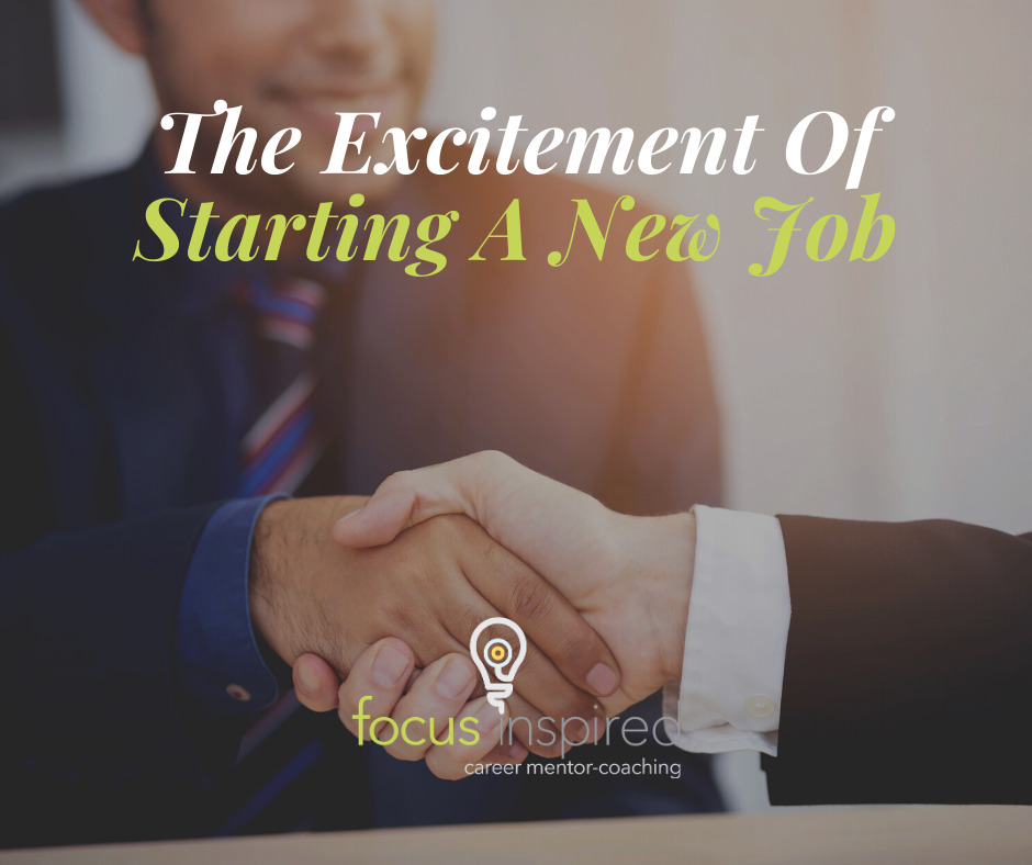 Title Card - The Excitement of Starting A New Job