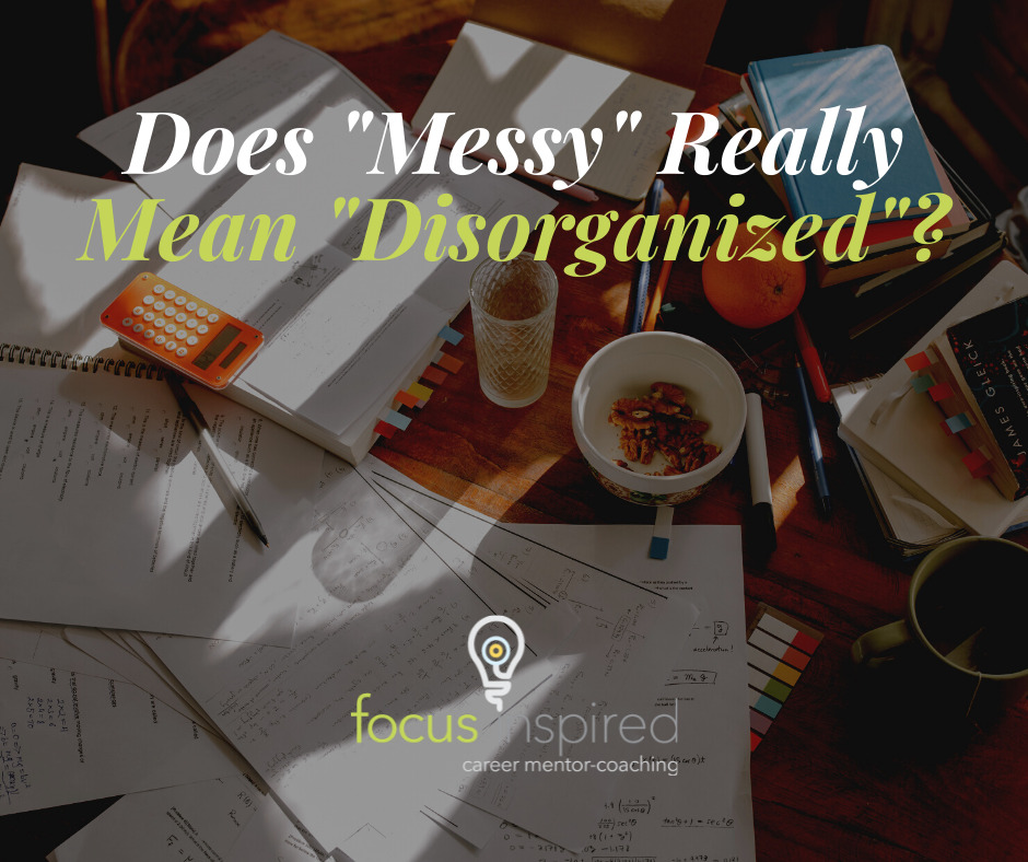 Title Card - Messy Means Disorganized?