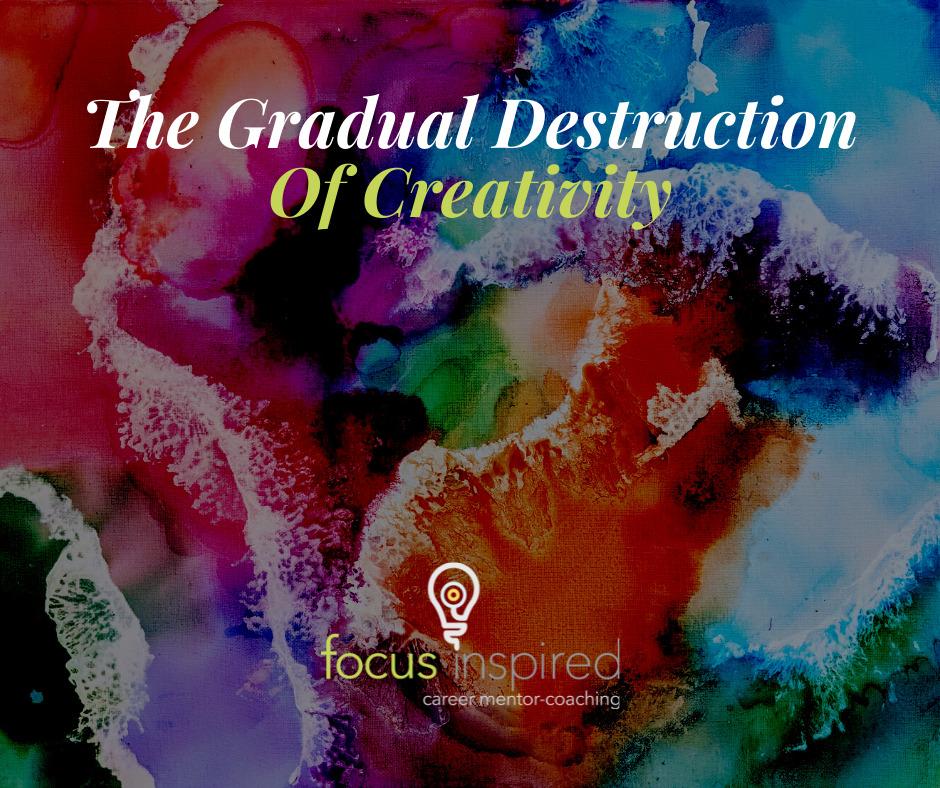 Title Card - Destruction of Creativity