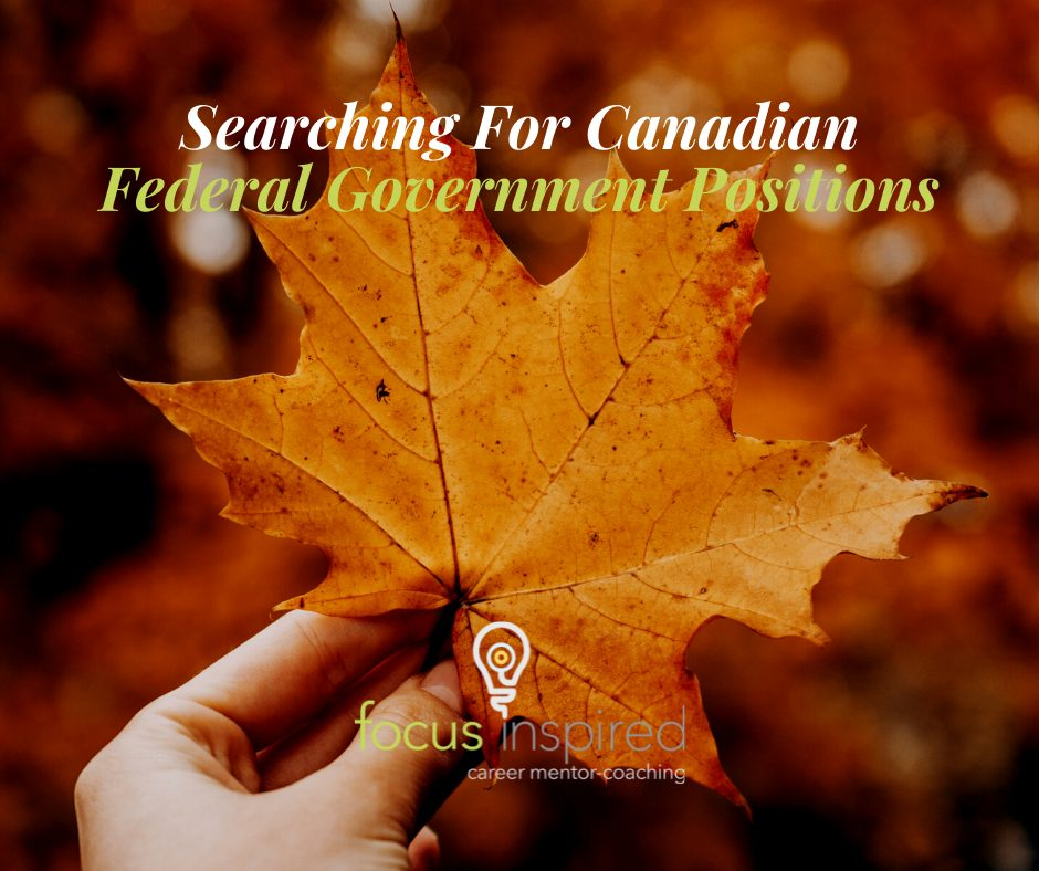 Title Card - Searching Federal Government Positions