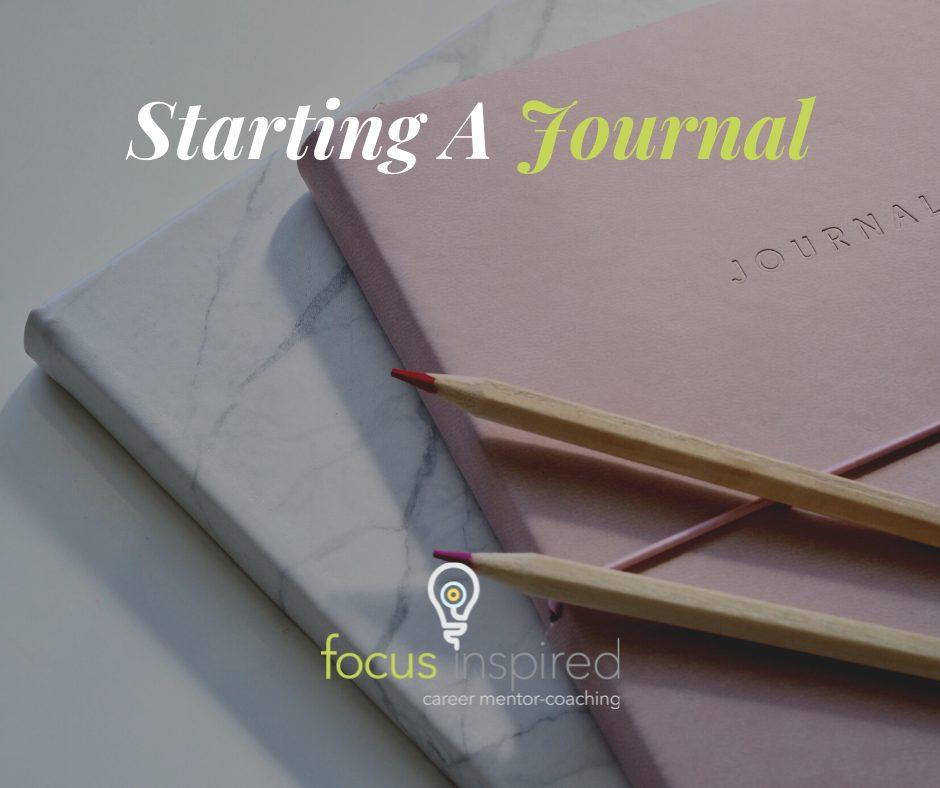 Title Card - Starting A Journal