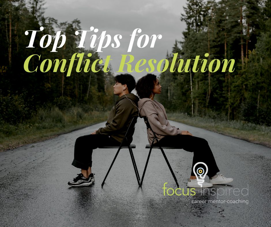 Title Card - Top Tips for Conflict Resolution