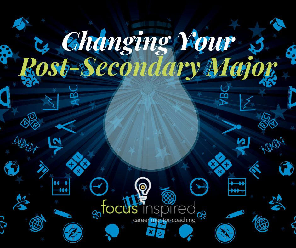 Title Card - Changing Your Post-Secondary Major