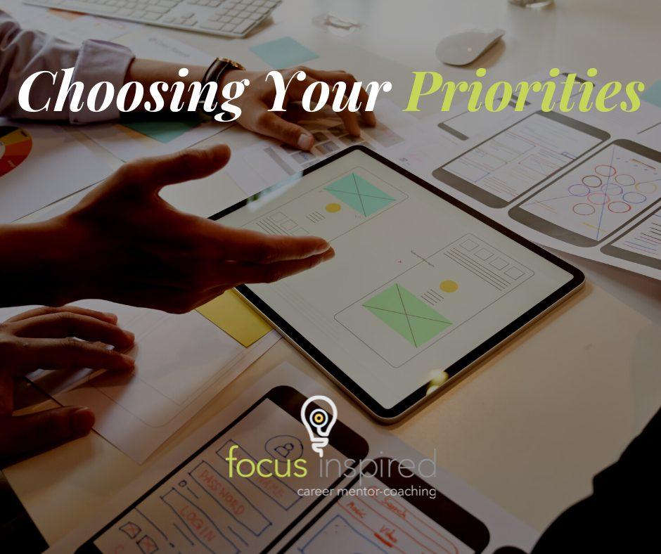 Title Card - Choosing Your Priorities